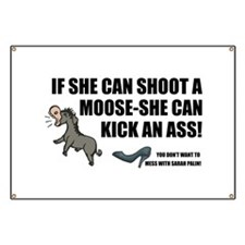 Palin-Ass Kicker Banner