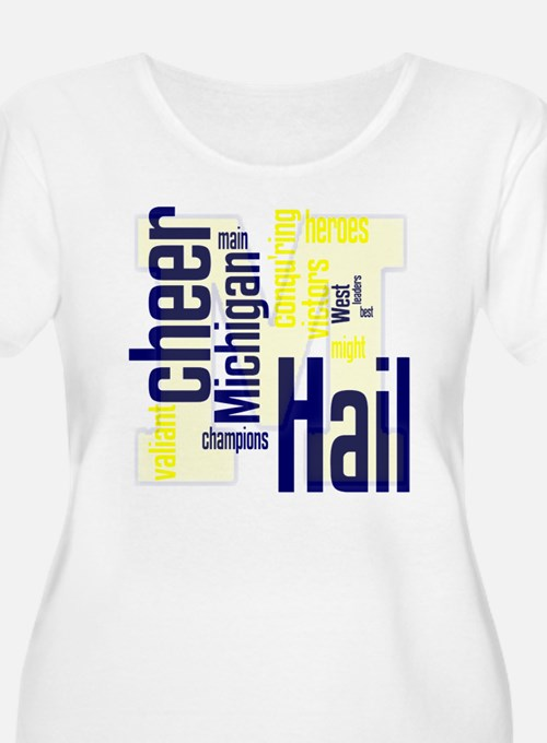 Cute Michigan football T-Shirt