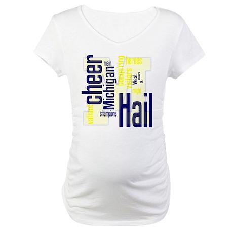 michigan Maternity T-Shirt