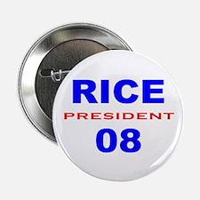 Condi Rice, President, 08, Button-3