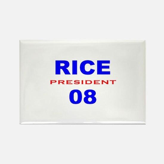 Condi Rice, President, 08, Rectangle Magnet-3