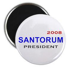 Rick Santorum, President, 08, Magnet-3