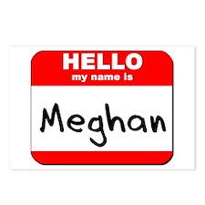 Hello my name is Meghan Postcards (Package of 8)