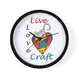 Craft Wall Clocks