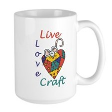 Mouse Love Craft Mug