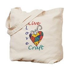 Mouse Love Craft Tote Bag