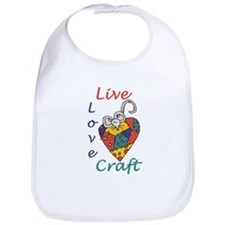 Mouse Love Craft Bib