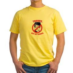 NO PALIN: Thanks but no thanks Yellow T-Shirt
