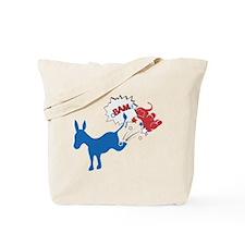 VoTe Obama Tote Bag