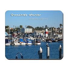 Oceanside Harbor Mousepad