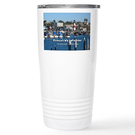 Oceanside Harbor Stainless Steel Travel Mug