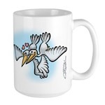 Seagull Love Large Mug