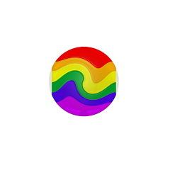 One Hundred Rainbow Swirl 1
