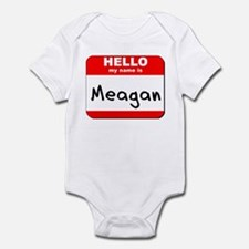 Hello my name is Meagan Infant Bodysuit