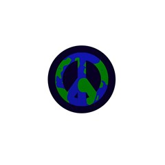 Earth Peace Sign Mini 1