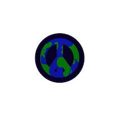 Earth Peace Sign Mini 1