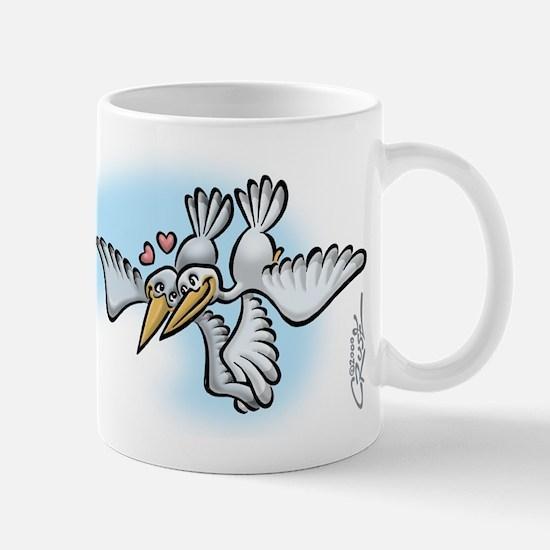 Seagull Love Mug