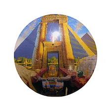 "Andrew Annenberg's Egyptian E 3.5"" Button"