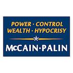 Republican Principles Rectangle Sticker