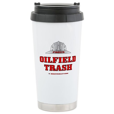 Oilfield Trash Stainless Steel Travel Mug
