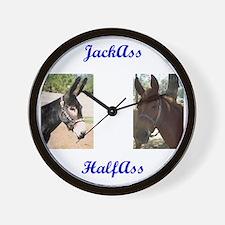 Cute Mule Wall Clock