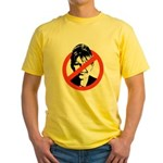 ANTI-PALIN Yellow T-Shirt