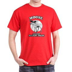 Moose against McCain/Palin T-Shirt