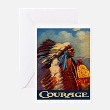 COURAGE 2 Greeting Card