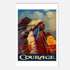 COURAGE 2 Postcards (Package of 8)