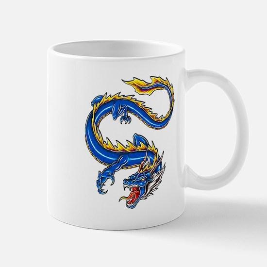 Blue Monster Tattoo Art Mug