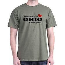 Somebody in Ohio Loves Me T-Shirt