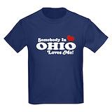 Ohio Kids T-shirts (Dark)