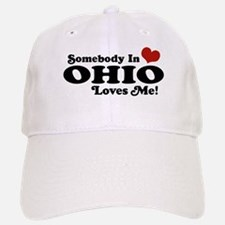Somebody in Ohio Loves Me Baseball Baseball Cap
