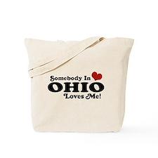 Somebody in Ohio Loves Me Tote Bag