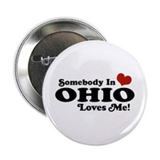 """Somebody in Ohio Loves Me 2.25"""" Button"""
