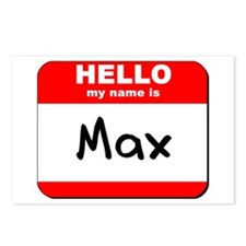Hello my name is Max Postcards (Package of 8)