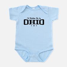 I'd Rather Be In Ohio Infant Bodysuit