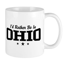I'd Rather Be In Ohio Mug