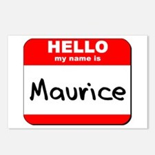 Hello my name is Maurice Postcards (Package of 8)