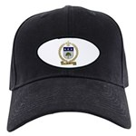 BREAU Family Crest Black Cap