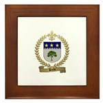 BREAU Family Crest Framed Tile