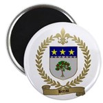 BREAU Family Crest Magnet