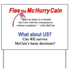 McHurryCain Yard Sign