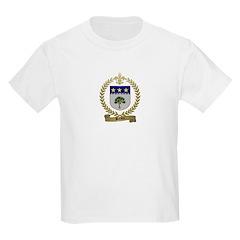 BREAUX Family Crest Kids T-Shirt