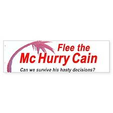 McHurryCain Bumper Bumper Sticker