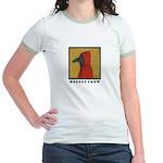 Hooded Crow Jr. Ringer T-Shirt