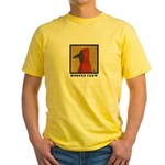 Hooded Crow Yellow T-Shirt