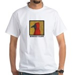 Hooded Crow White T-Shirt