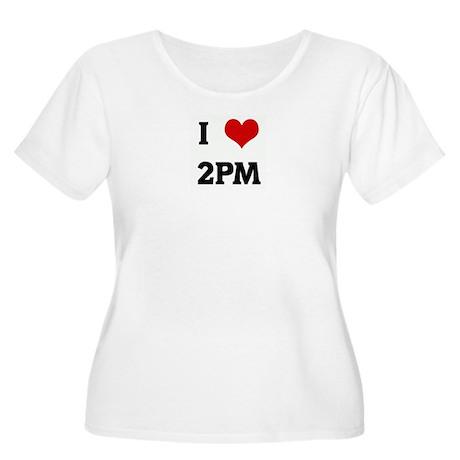 I Love 2PM Women's Plus Size Scoop Neck T-Shirt