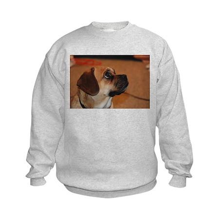 Dog-puggle Kids Sweatshirt